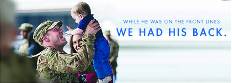 """Dominion Energy helped launch the national """"Troops to Energy Jobs"""" initiative and supports military employees and families."""