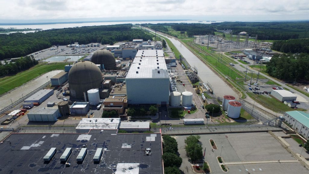 Surry Power Station operates two nuclear units capable of producing clean electricity for 419,000 homes in Virginia.