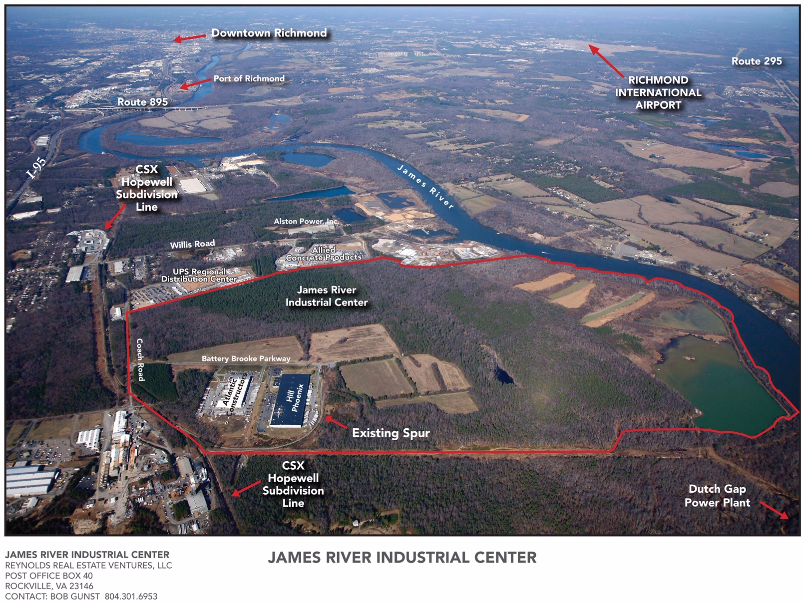 Photo of James River Industrial Center